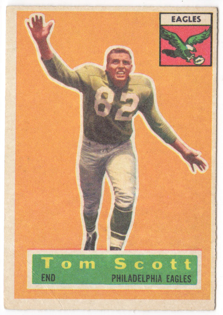 1956 Topps #112 Tom Scott