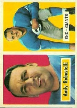 1957 Topps #71 Andy Robustelli