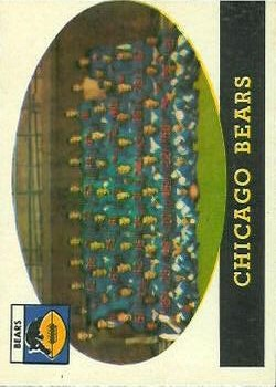 1958 Topps #29 Chicago Bears