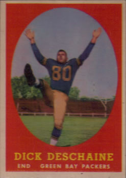 1958 Topps #48 Dick Deschaine RC