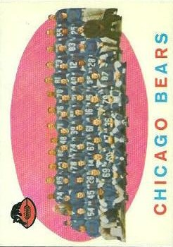 1959 Topps #104 Chicago Bears CL