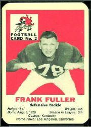1960 Cardinals Mayrose Franks #2 Frank Fuller