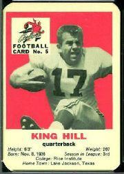1960 Cardinals Mayrose Franks #5 King Hill