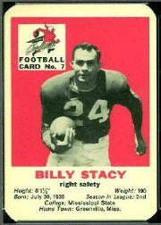 1960 Cardinals Mayrose Franks #7 Bill Stacy