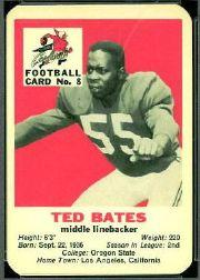 1960 Cardinals Mayrose Franks #8 Ted Bates