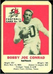 1960 Cardinals Mayrose Franks #10 Bobby Joe Conrad