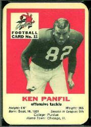 1960 Cardinals Mayrose Franks #11 Ken Panfil