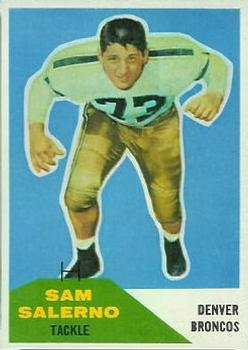 1960 Fleer #6 Sam Salerno RC