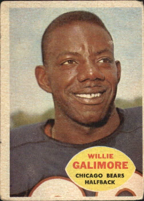 1960 Topps #14 Willie Galimore