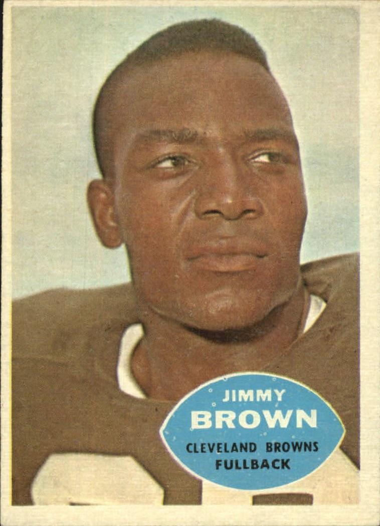 1960 Topps #23 Jim Brown