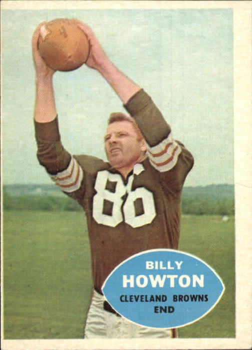 1960 Topps #27 Billy Howton