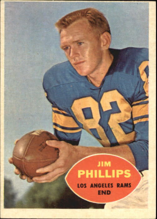 1960 Topps #66 Jim Phillips