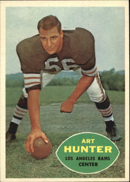 1960 Topps #67 Art Hunter