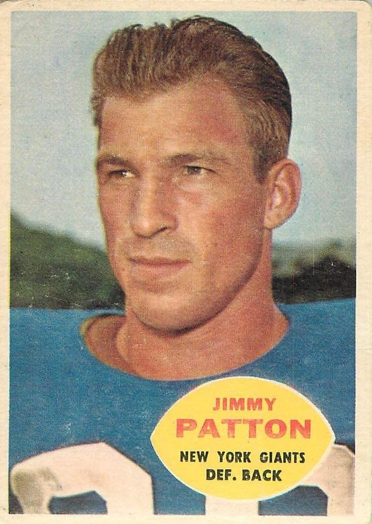 1960 Topps #79 Jim Patton