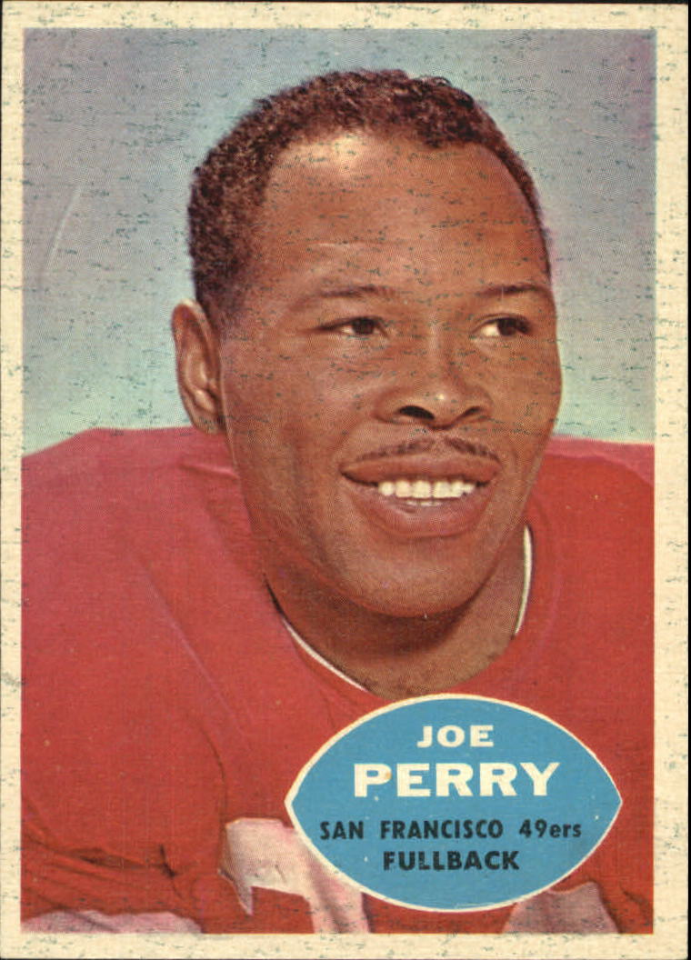 1960 Topps #114 Joe Perry front image