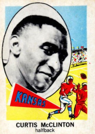 1961 Nu-Card #131 Curtis McClinton