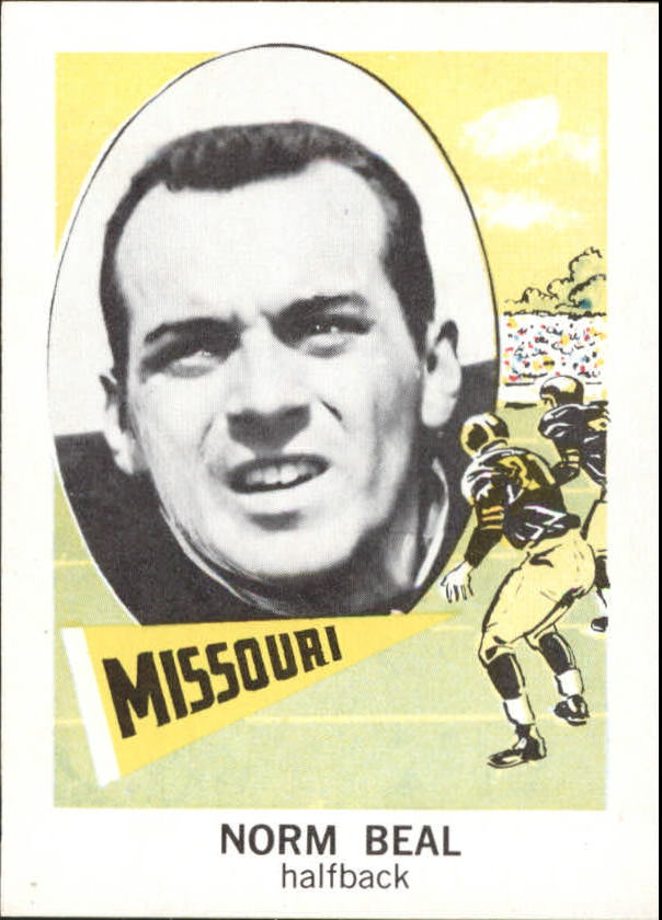 1961 Nu-Card #149 Norman Beal