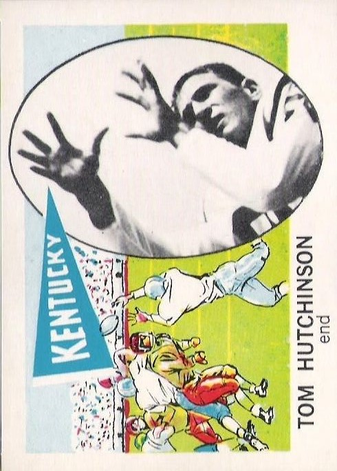 1961 Nu-Card #171 Tom Hutchinson