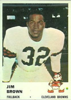 1961 Fleer #11 Jim Brown