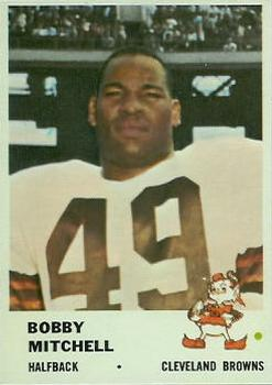 1961 Fleer #12 Bobby Mitchell