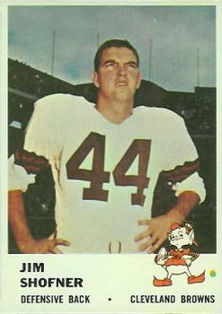 1961 Fleer #15 Jim Shofner