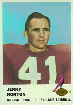 1961 Fleer #26 Jerry Norton