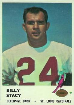 1961 Fleer #27 Bill Stacy RC