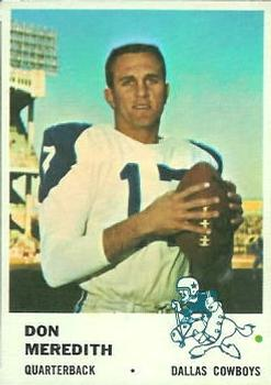 1961 Fleer #41 Don Meredith RC