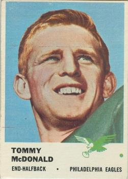 1961 Fleer #51 Tommy McDonald