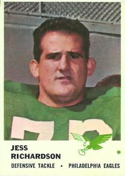 1961 Fleer #58 Jesse Richardson