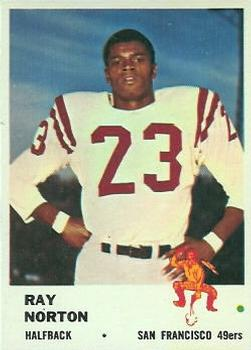 1961 Fleer #61 Ray Norton RC