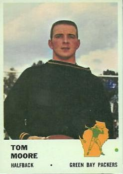 1961 Fleer #91 Tom Moore RC