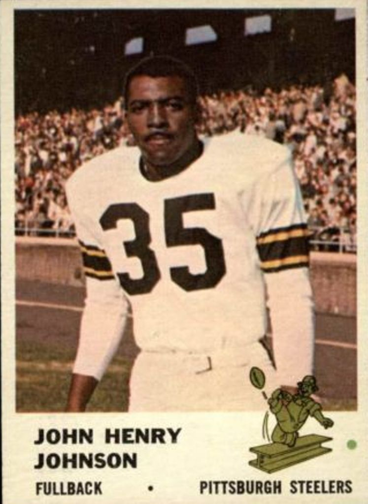 1961 Fleer #118 John Henry Johnson