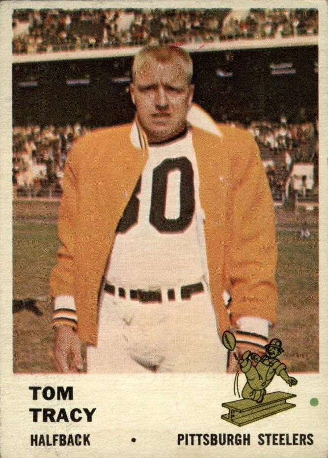 1961 Fleer #119 Tom Tracy
