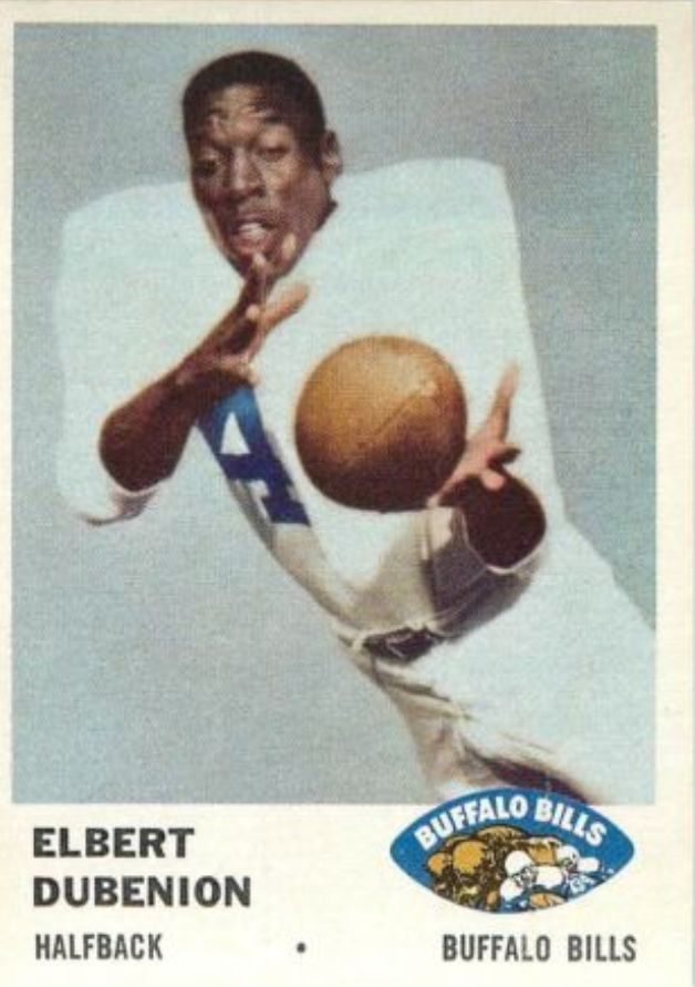 1961 Fleer #136 Elbert Dubenion
