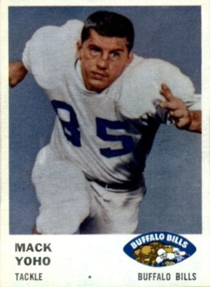 1961 Fleer #138 Mack Yoho RC