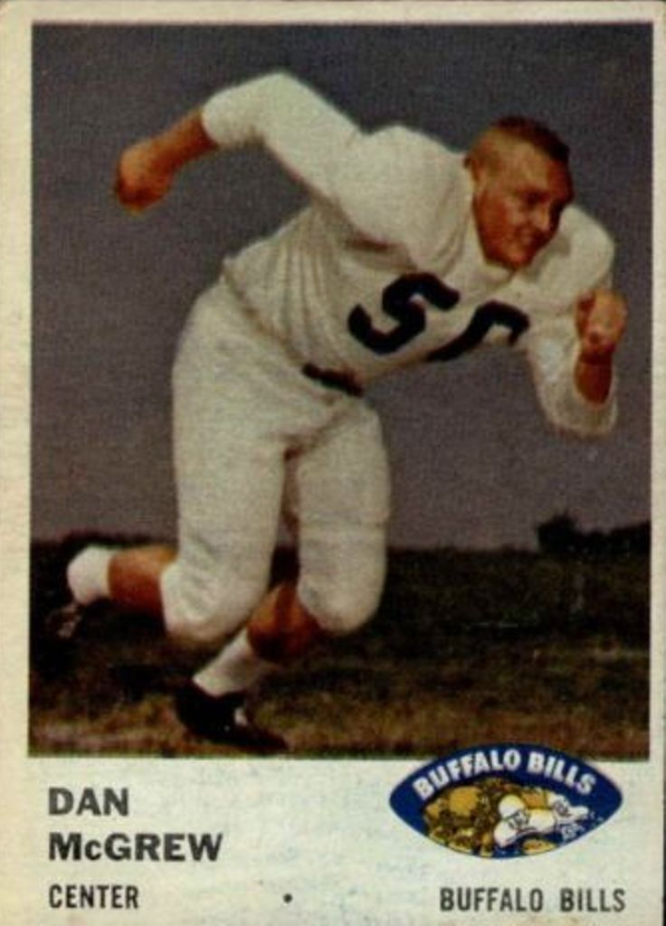 1961 Fleer #140 Dan McGrew