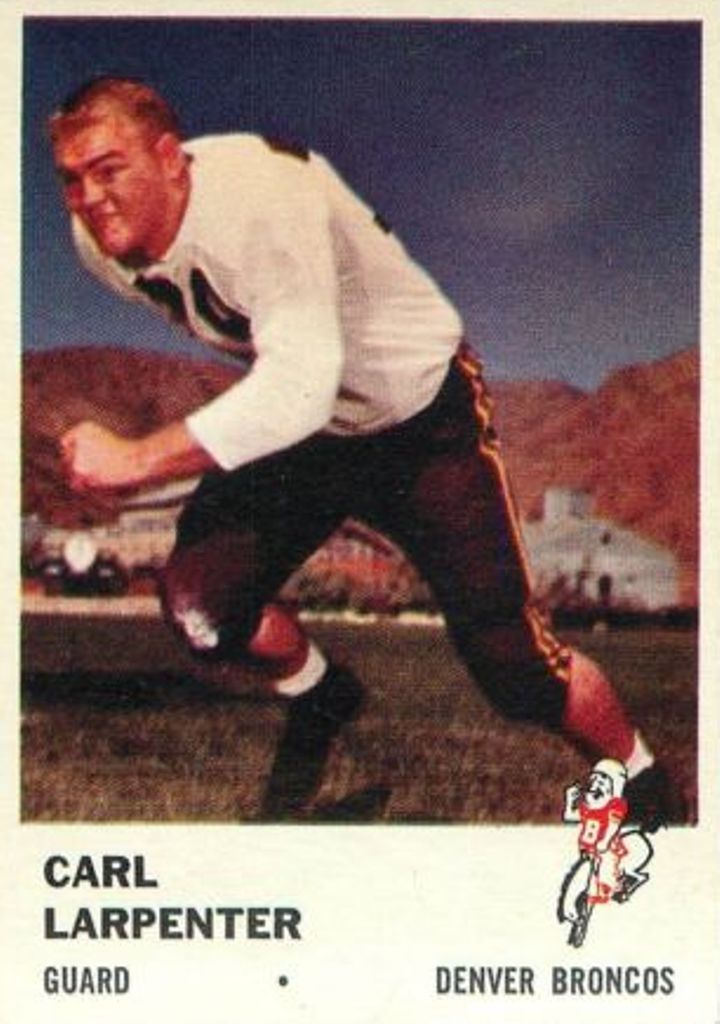 1961 Fleer #150 Carl Larpenter
