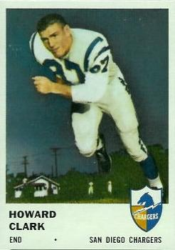 1961 Fleer #159 Howard Clark RC