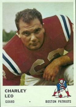 1961 Fleer #181 Charley Leo RC