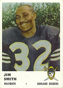 1961 Fleer #192 James Smith