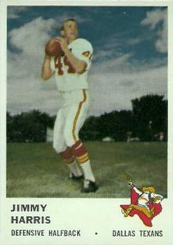 1961 Fleer #207 Jimmy Harris