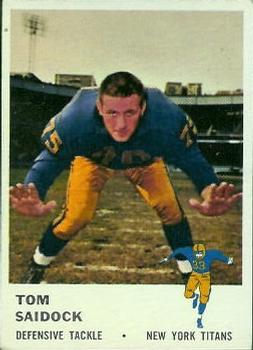 1961 Fleer #219 Tom Saidock