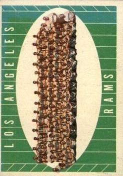 1961 Topps #56 Los Angeles Rams