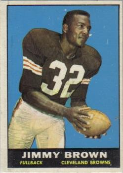 1961 Topps #71 Jim Brown front image