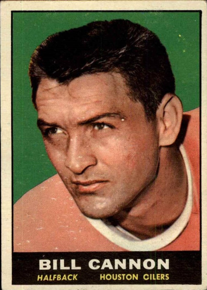 1961 Topps #146 Billy Cannon