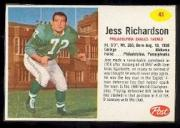 1962 Post Cereal #41 Jesse Richardson SP