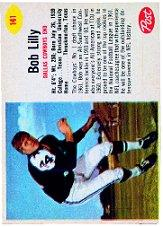 1962 Post Cereal #141 Bob Lilly