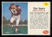 1962 Post Cereal #176 Don Joyce SP