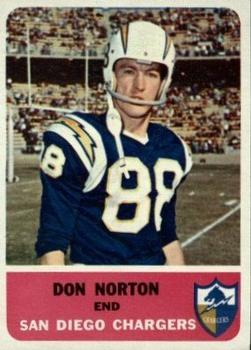 1962 Fleer #78 Don Norton